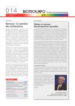 Biotech numéro 014