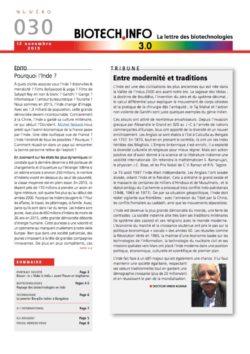 Biotech numéro 030