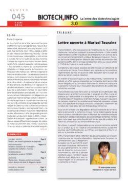 Biotech numéro 045