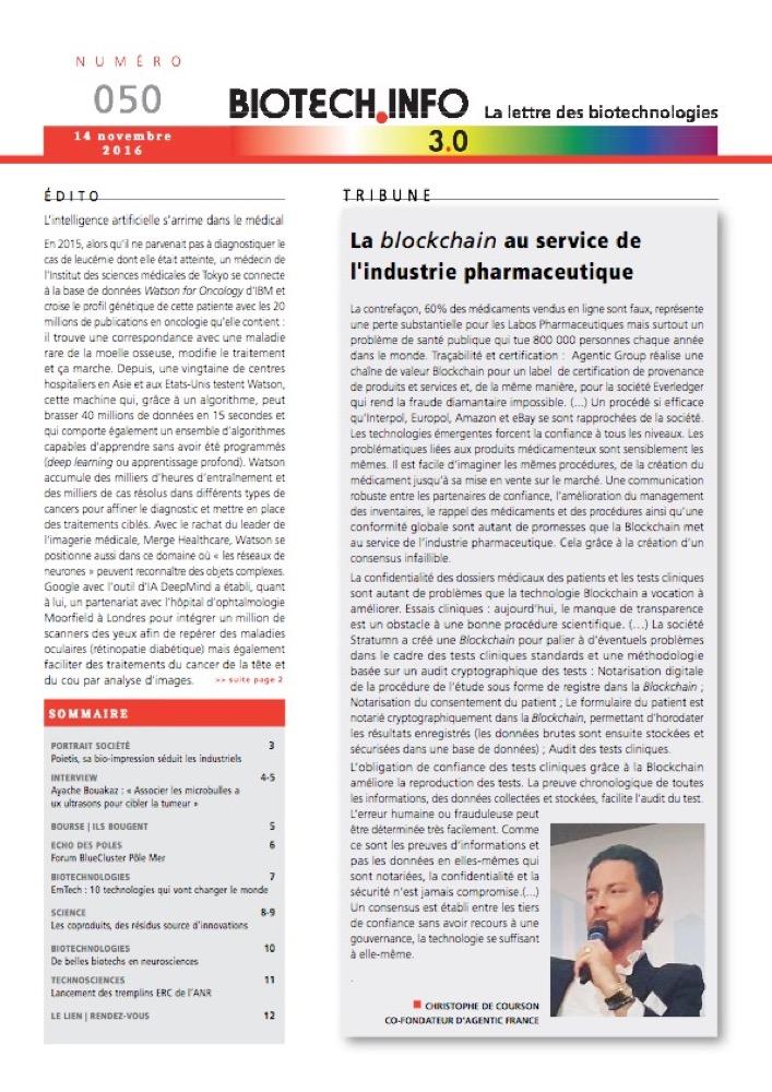 Biotech numéro 050