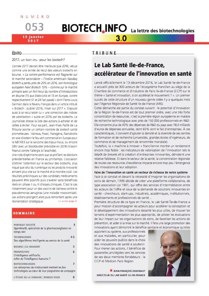 Biotech numéro 053