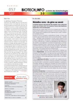 Biotech numéro 057