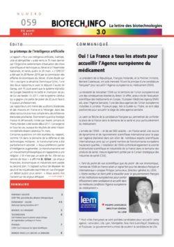 Biotech numéro 059