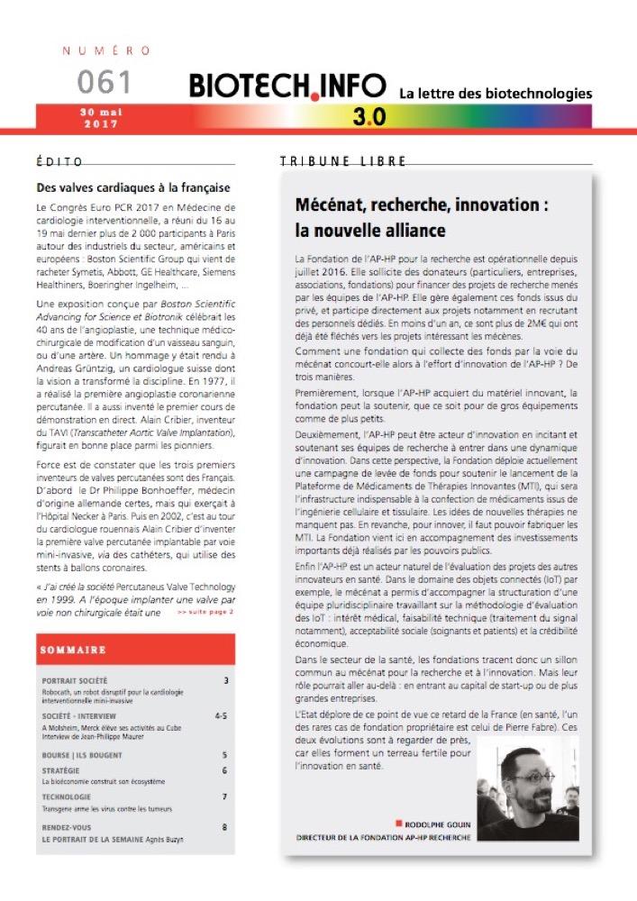Biotech numéro 061