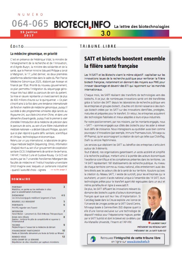 Biotech numéro 064-65