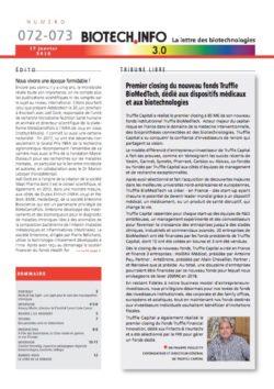 Biotech numéro 072-73