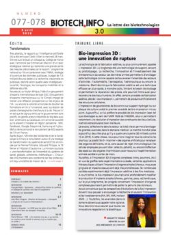 Biotech numéro 077-78
