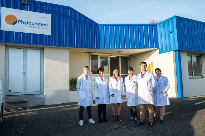 biotech info articles l'équipe du phytocontrol proxilab bretagne crédit phytocontrol redimensionnée