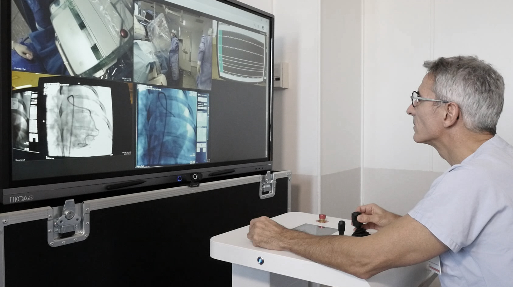 biotech info articles remi sabatier during first remote pci in europe def